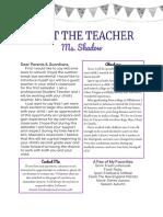 family letter pdf