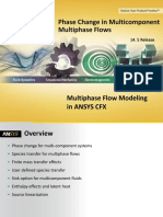 CFX Multiphase 14.5 L10 Multicomponent Multiphase Flows