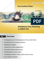 CFX Multiphase 14.5 L04 Free Surface Flows