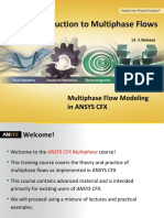 CFX Multiphase 14.5 L01 Introduction to Multiphase Flows