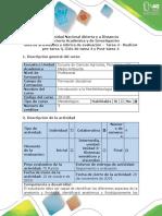 Guía de Actividades y Rúbrica de Evaluación -Tarea 4 -