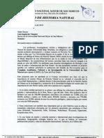 Carta Del Museo Al Rector