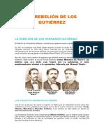 La Rebelión de Los Gutiérrez