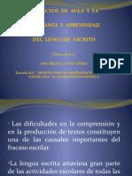 DIDÁCTICA DE LA LECTURA Y LA ESCRITURA EN LA PEDAGOGÍA POR PROYECTOS