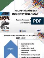 Rubber Rubber Products Industry Roadmap Part 2 by Dir. Nestor Arcansalin BOI