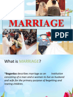 (Marriage) Power Point Presentation