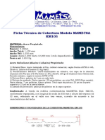 Ficha Tecnica Cobertura MAMETSA KM105