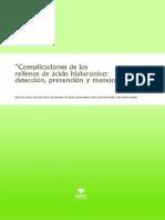 eBook en PDF Complicaciones de Los Rellenos de Acido Hialuronico Deteccion Prevencion y Manejo