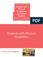 Social Justice; Physical Disabilities and Gifted Students