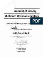 AGA 9 - 2003 - Measurement of Gas by Multipath Ultrasonic Meters.pdf