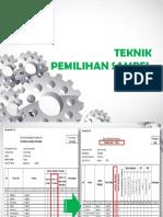 2. NEW Teknik Pemilihan  Sampel-1.pptx
