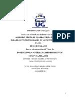 TesisTonato&VacaPropuestaTecnologicaHotelManglaralt