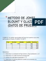 Metodo de Jones Blount y Glazze Datos Prueba Nuevo
