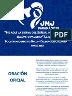Boletín No. 2 JMJ Panamá 2019 - CEC.pdf