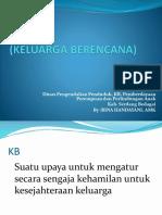 KB (Keluarga Berencana) Ppt