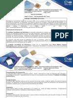 Guía de Actividades y Rúbrica de Evaluación - Paso 1 - Reconocimiento Del Curso