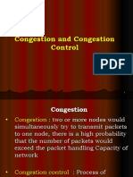 Congestion Control and Firewall