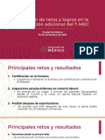 T-MEC Retos y Logros, 10dic19