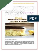 Enjoy Yummy Easy Boston Cream Poke Cake on Every Occasion.pdf