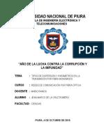 TIPOS DE DISPERSIÓN Y PARÁMETROS EN LA TRANSMISIÓN DE FIBRA MONOMODO.docx
