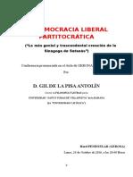 LA DEMOCRACIA LIBERAL PARTITOCRÁTICA