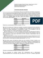 Lista de Exercícios - Aula quimica analitica04-12