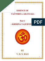 ESSENCE_OF_TAITTIRIYA_ARANYAKA