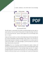 SECI model Analysis