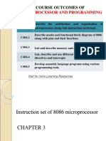 Microprocessor and interfacing Notes lab reports