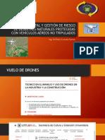 Gestión Ambiental y Gestión de Riesgo de Desastres Drones