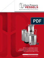 Euro Pressure Vessels Brochure2019