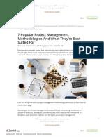Management methodologies