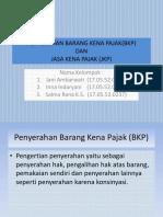 BKP dan JKP