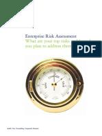 audit advisory enterprise risk assessment