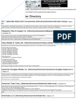 The Piping Directory