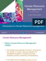 Ppt HRM Garry Dessler 11th Edition