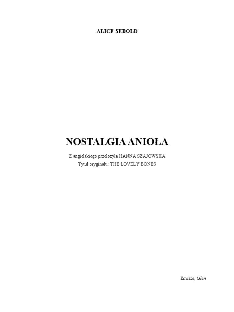 53cdbf05f5323 Sebold Alice - Nostalgia anioła