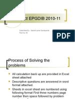 Fm Project Epdib 2010-11