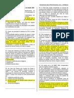 Prova de residência FARMACIA 2013-2014