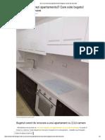 Bugetul Corect de Renovare Apartament