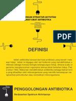 Hubungan Struktur Antibiotik Smt3A