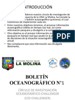 Boletin Oceanografico No1 Unalamolina