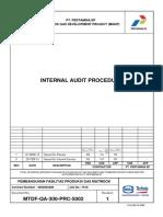 MTDF-QA-300-PRC-5002-R1