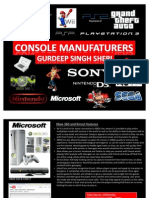 Console Manufacturers