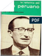 La Reforma Del Agro Peruano -Luis Felipe De La Puente Uceda - Ediciones Ensayos Sociales 1966 (1)