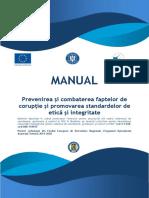 4 Manual Prevenire Si Combatere Coruptie