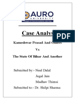Case Analysis Labour Law