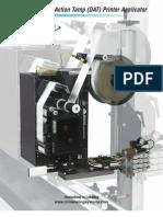 CTM 3600PA Series Label Printer Applicator