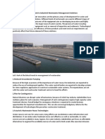 Top 4 Trends in Industrial Wastewater Management Solutions