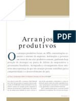 Clusters e Arranjos Produtivos